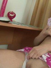 Pictures of teen Abelinda playing with her pussy