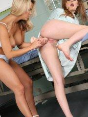 Pictures of teen Ashlynn Brooke having hot lesbian sex