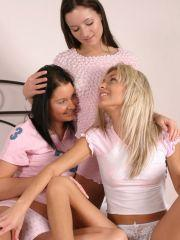 Pics of Britney Lightspeed getting it on with her hot friends