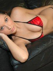 Pictures of Corin Riggs ready for you in a bikini