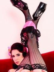 Pictures of Joanna Angel dressed up some hot goth sex