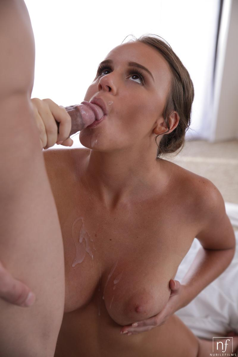 cum face teen bath