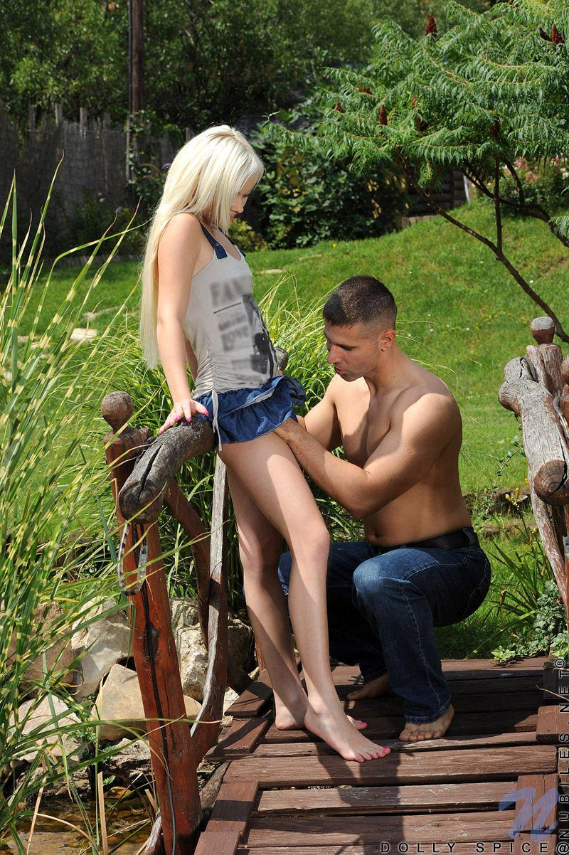 Happens. blond teen dolly fuck outdoors
