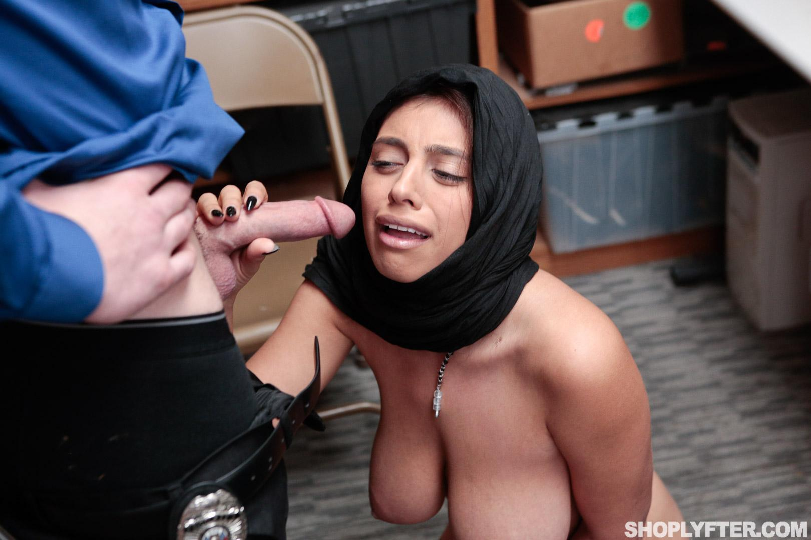 Busty coed Ella Knox fucks to stay out of trouble   Coed Cherry