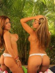 Pictures of the Spice Twins getting you hard