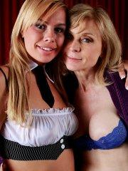 Pictures of Tara Lynn Foxx fucking Nina Hartley