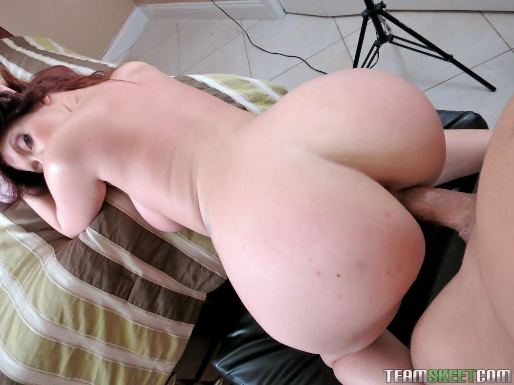 Big ass brunette rides dick sally gets