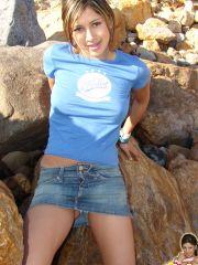 Pictures of Trixie Teen flashing in public