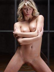 Pictures of a blonde girl totally naked for you